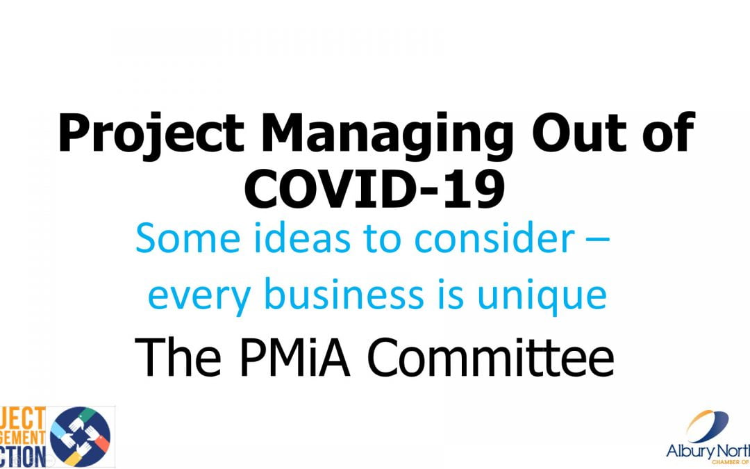 PMiA May 2020 Presentation